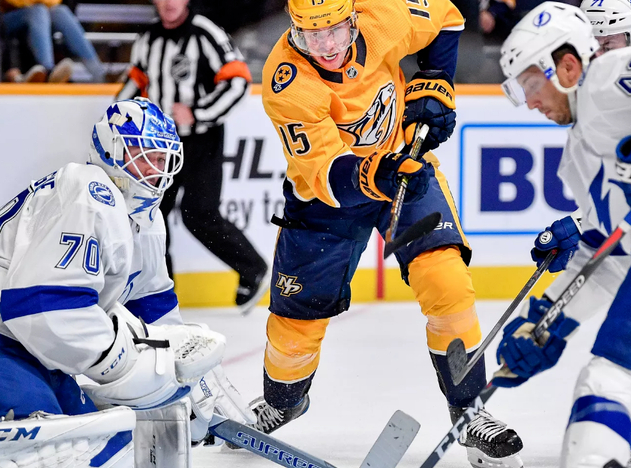 Tampa Bay Lightning at Nashville Predators Betting Preview