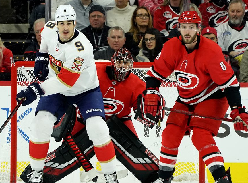 Florida Panthers at Carolina Hurricanes Betting Preview