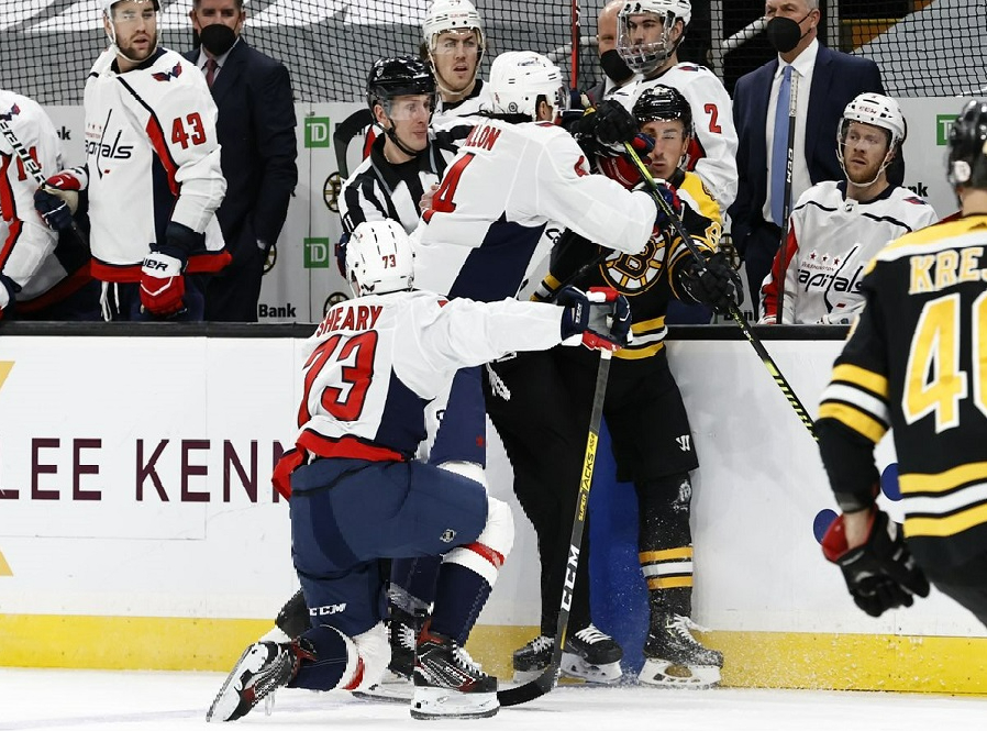 Capitals at Bruins Betting Preview/Player Prop