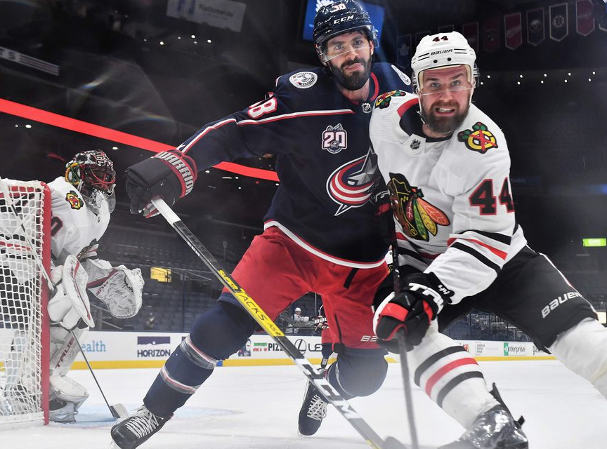 Chicago Blackhawks at Columbus Blue Jackets Betting Pick