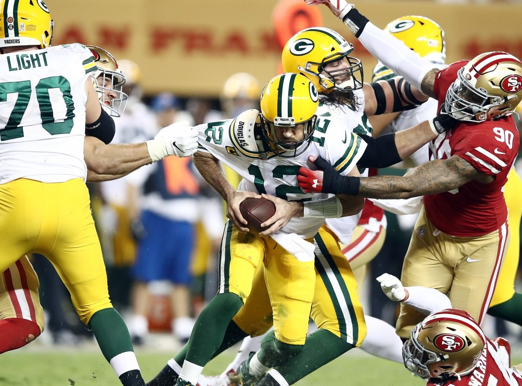 Green Bay Packers at San Francisco 49ers Betting Preview/Player Prop
