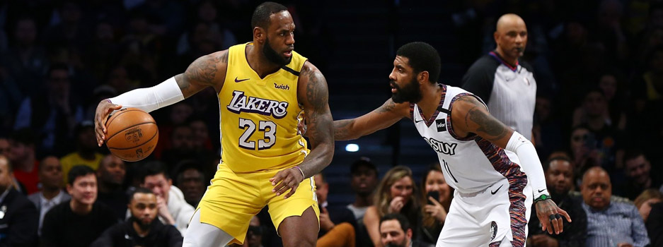 The Los Angeles Lakers host the Brooklyn Nets in a potential Finals preview as some of the league's most talented players gather in this heavyweight matchup.