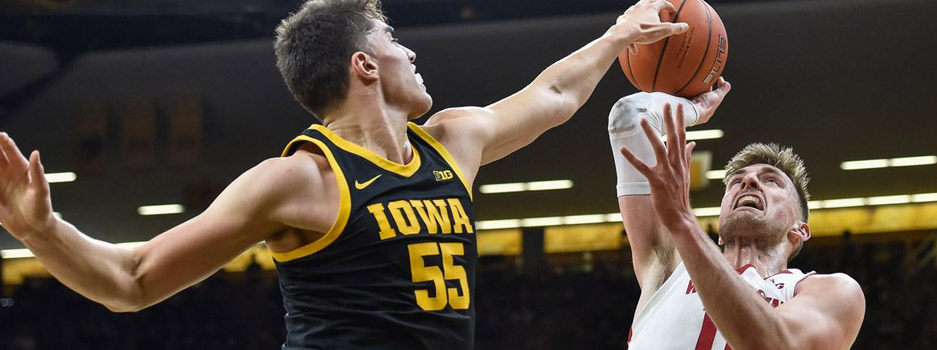 The Iowa Hawkeyes travel to the home of the Wisconsin Badgers to faceoff in a top 25 matchup between ranked teams in the same Big Ten Conference.
