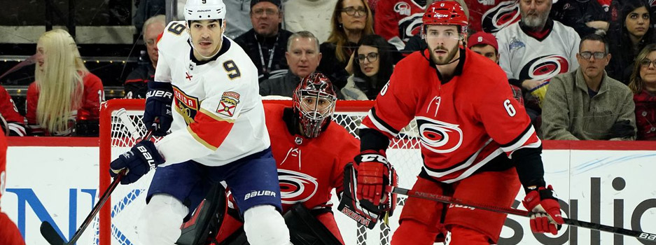 The Florida Panthers and the Carolina Hurricanes face off in this Central Division matchup between two possible Stanley Cup contenders both having terrific seasons thusfar.
