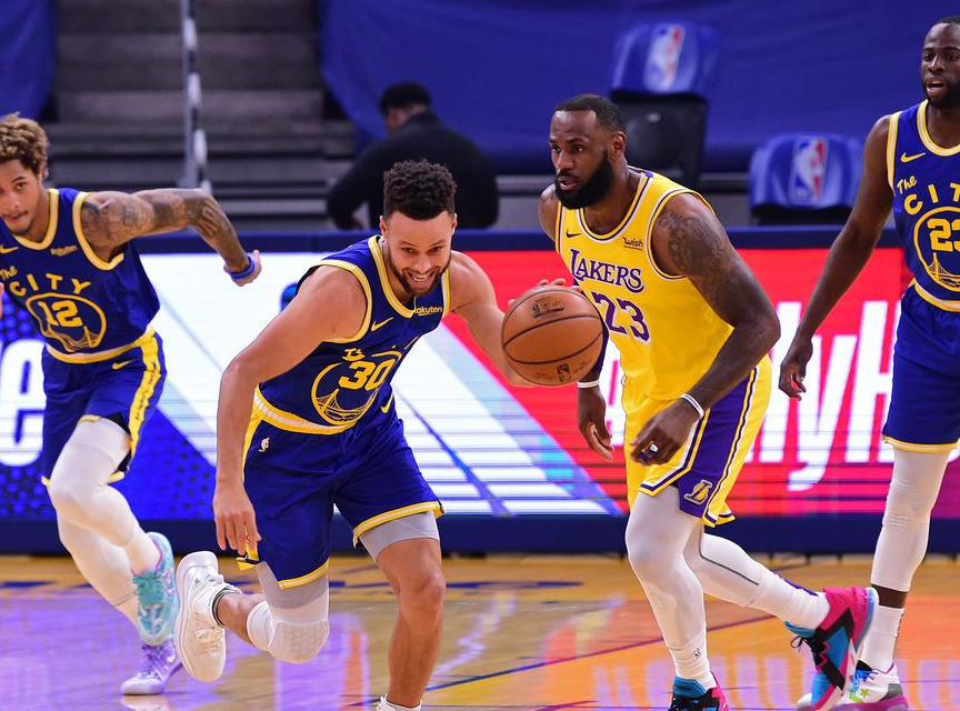Golden State Warriors at Los Angeles Lakers Betting Preview/Player Prop